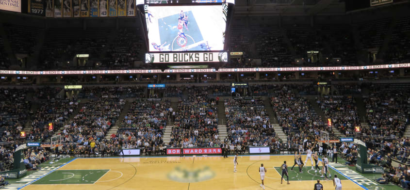 Ingressos Milwaukee Bucks