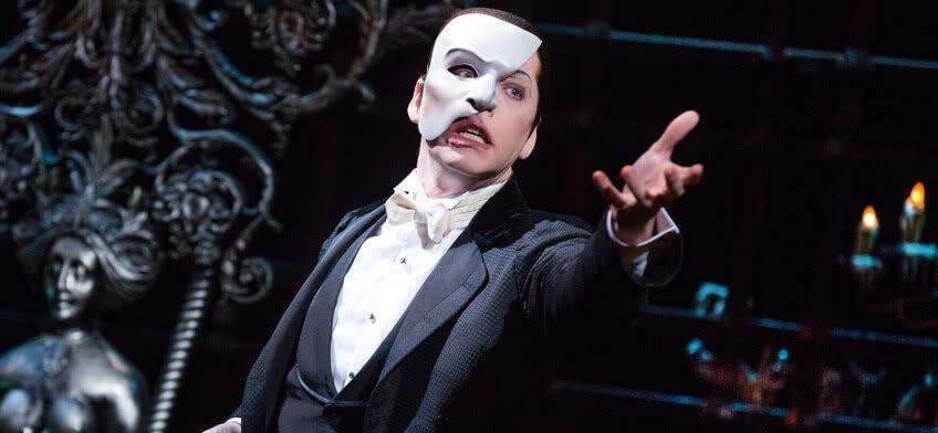Entradas El Fantasma de la Ópera New York