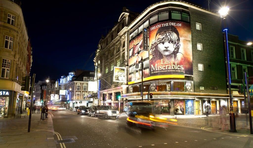 Ingressos Musicais Londres