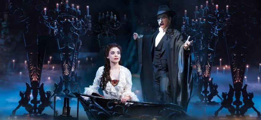 Ingressos O Fantasma da Ópera London