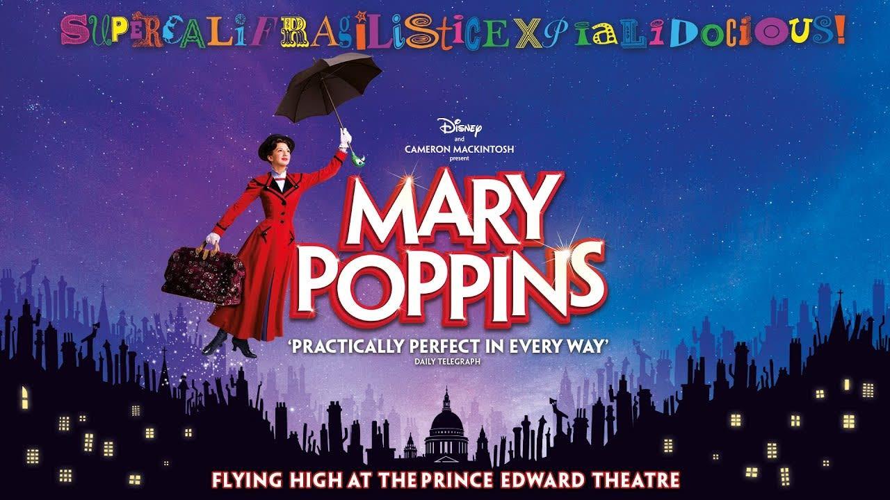 Ingressos Mary Poppins London