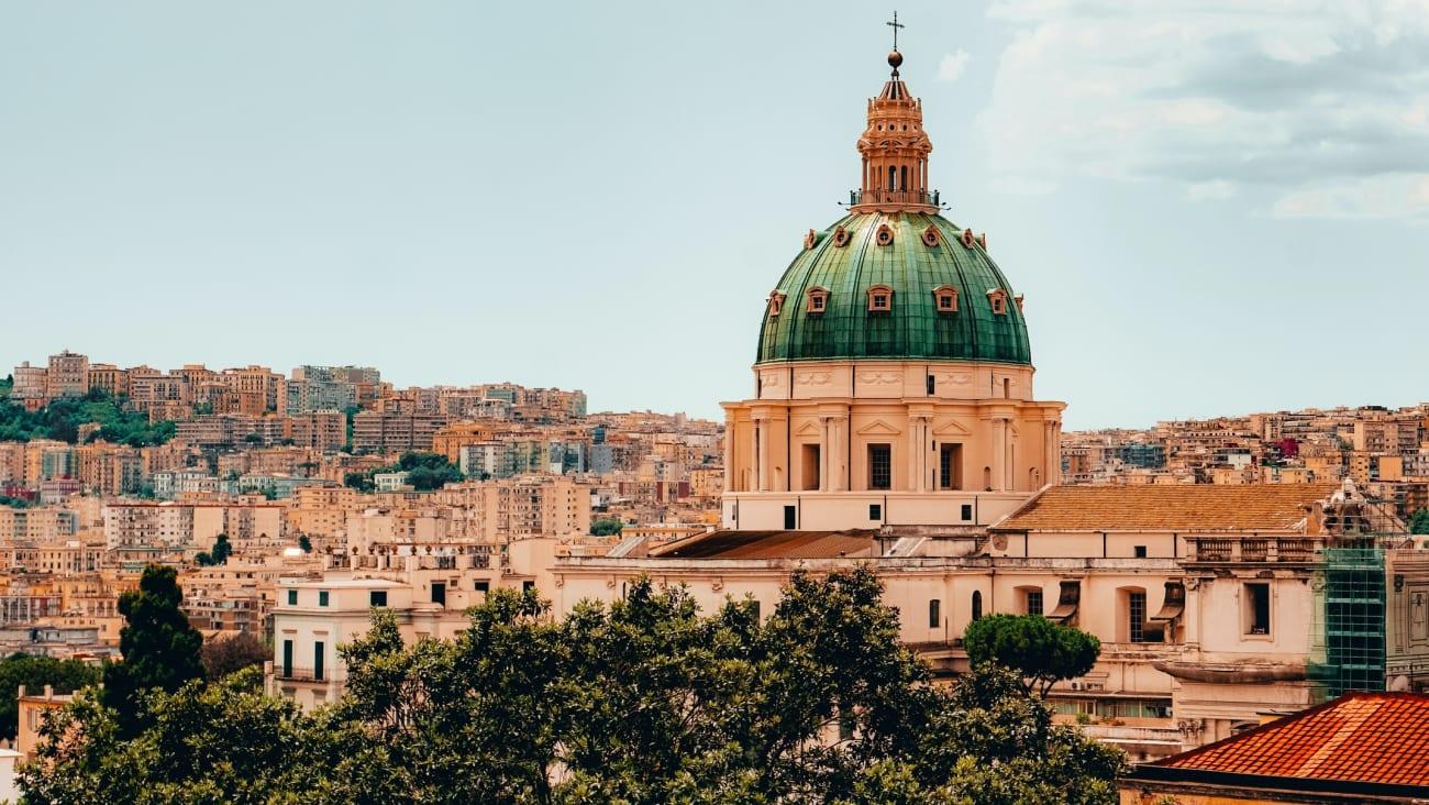 Visite à Naples depuis Rome