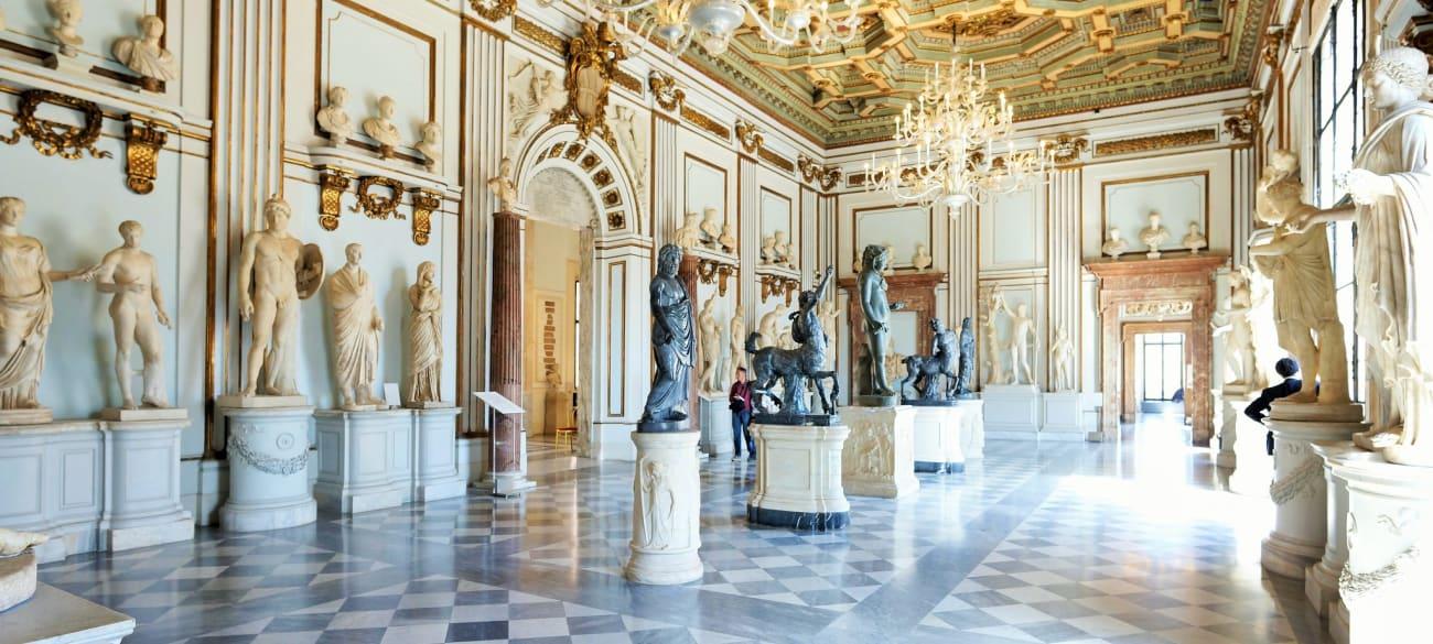 Ingressos para os Museus Capitolinos
