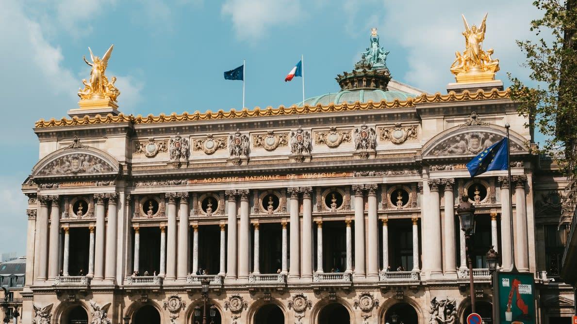 Visita a la Opera Garnier en París
