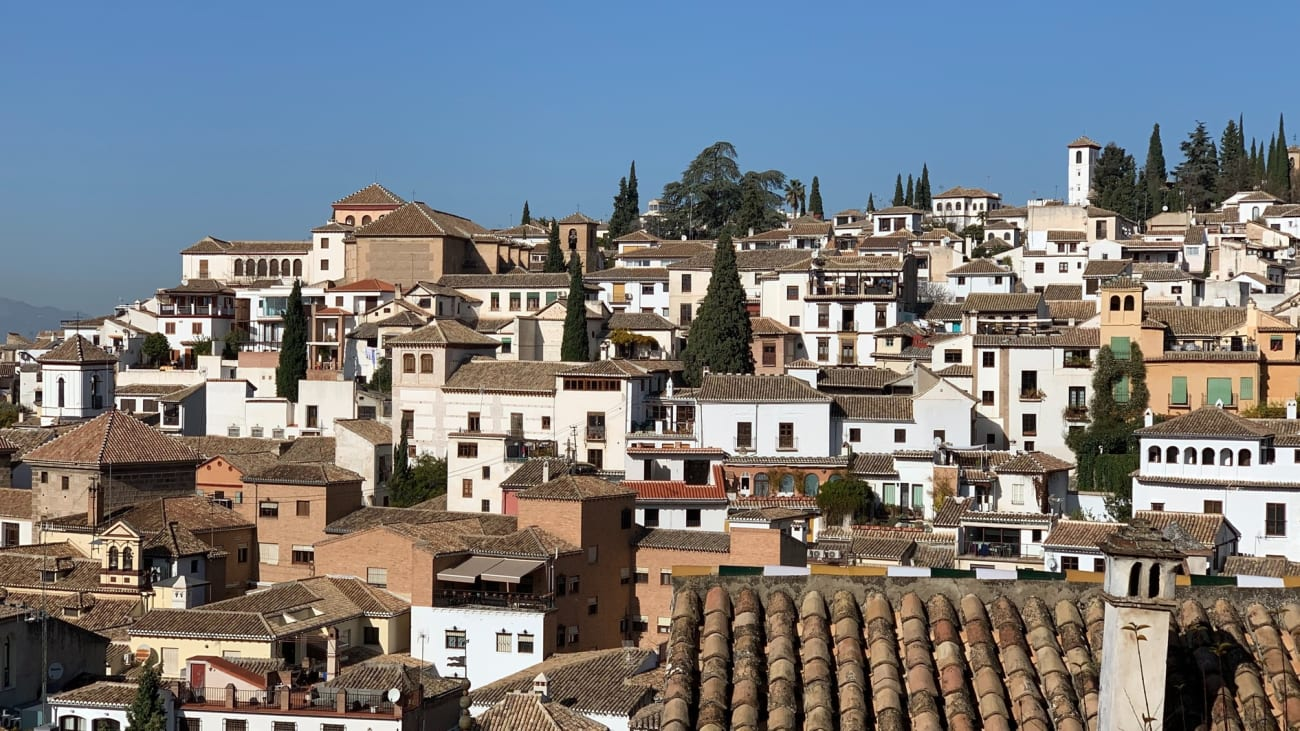 Visit the Albaicin and Sacromonte in Granada