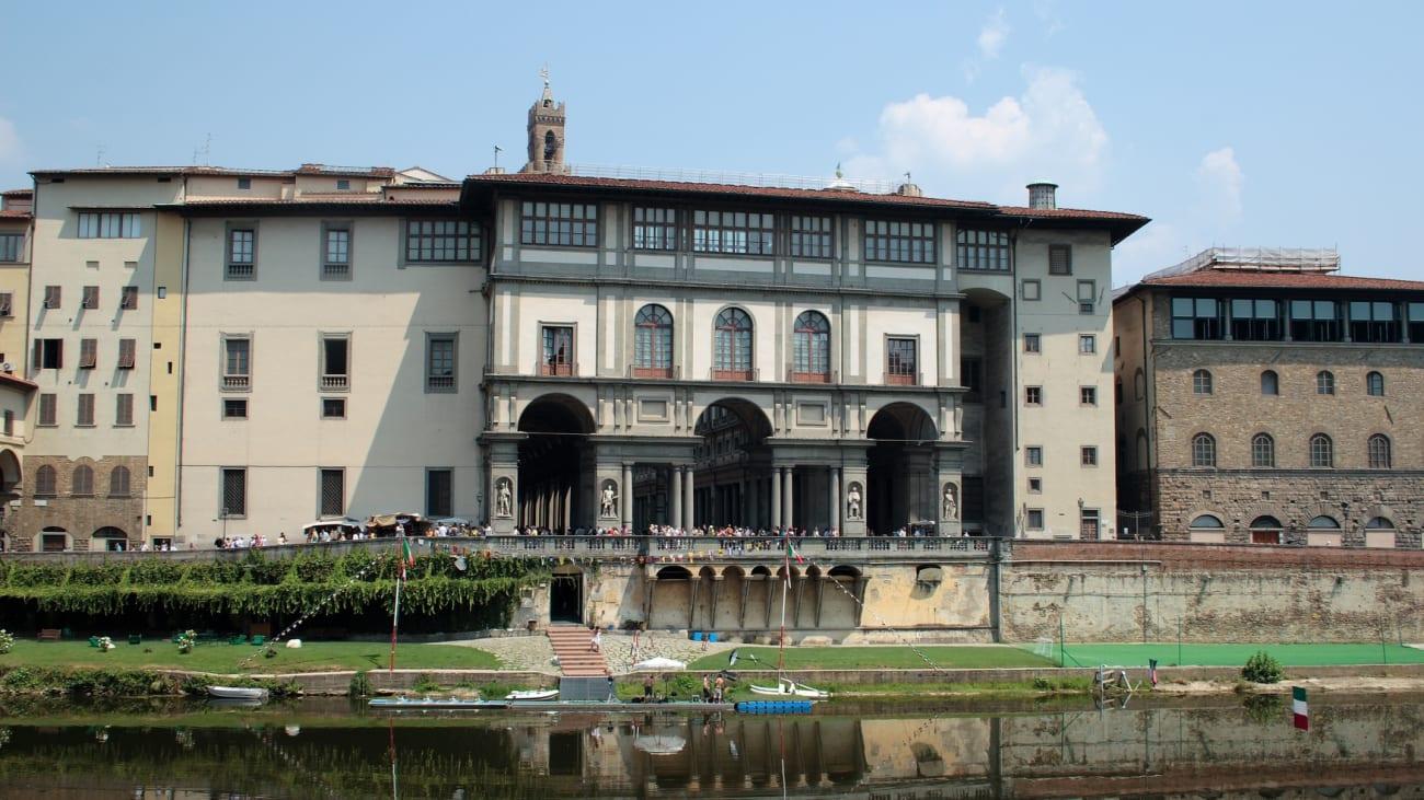 Billets pour la Galerie des Uffizi à Florence