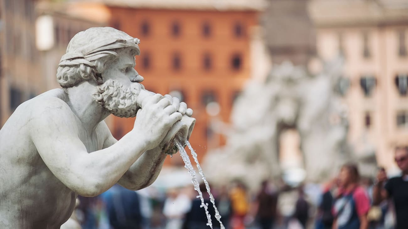 Top 5 fountains in Rome