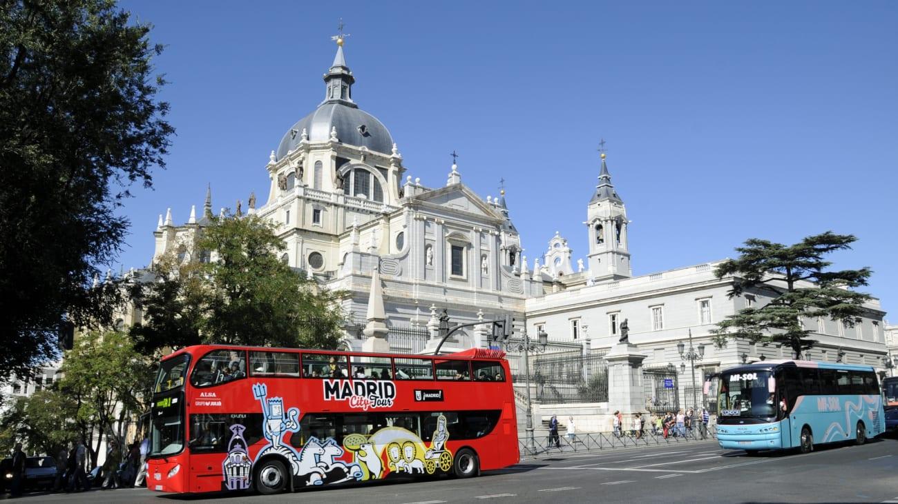 Los mejores buses turísticos en Madrid