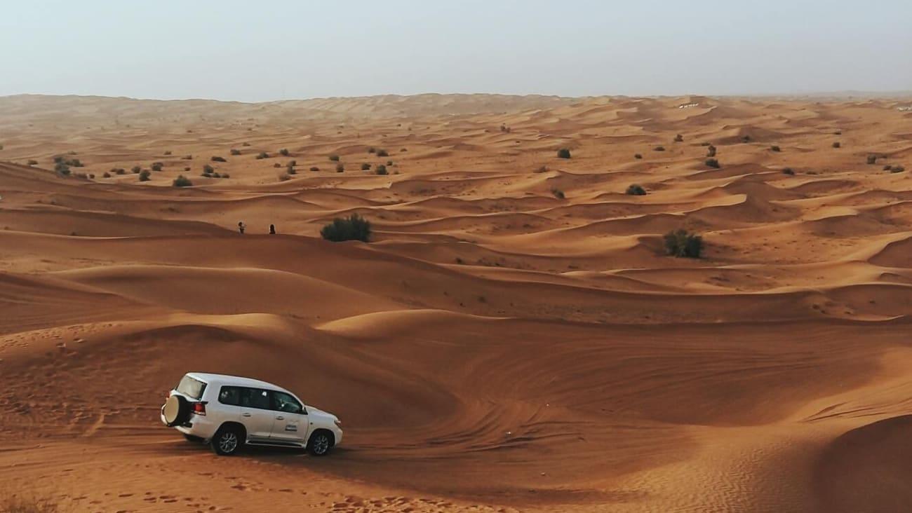 Excursiones al desierto de Dubai