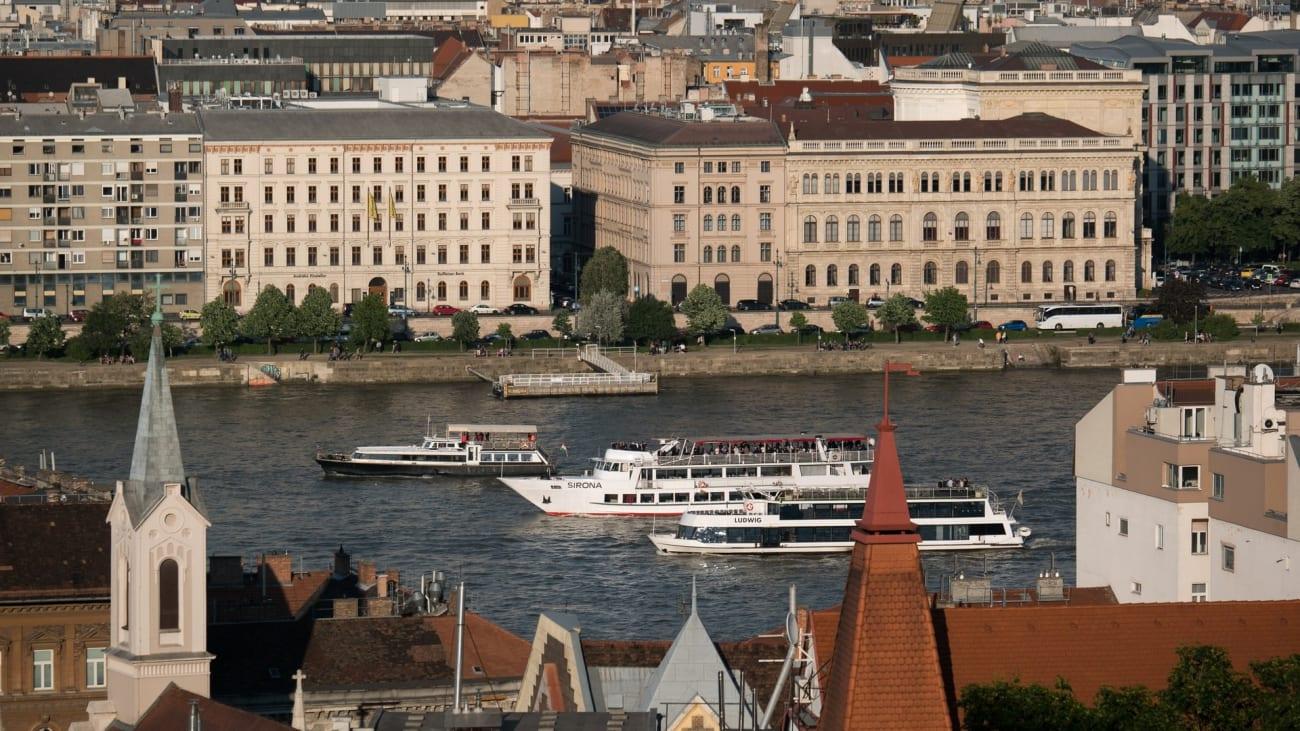 Cruceros por el Danubio en Budapest