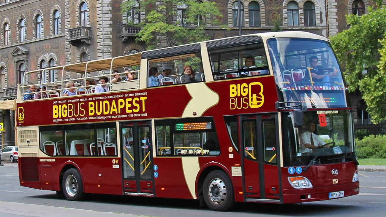 Hop on Hop off Bus Tours in Budapest