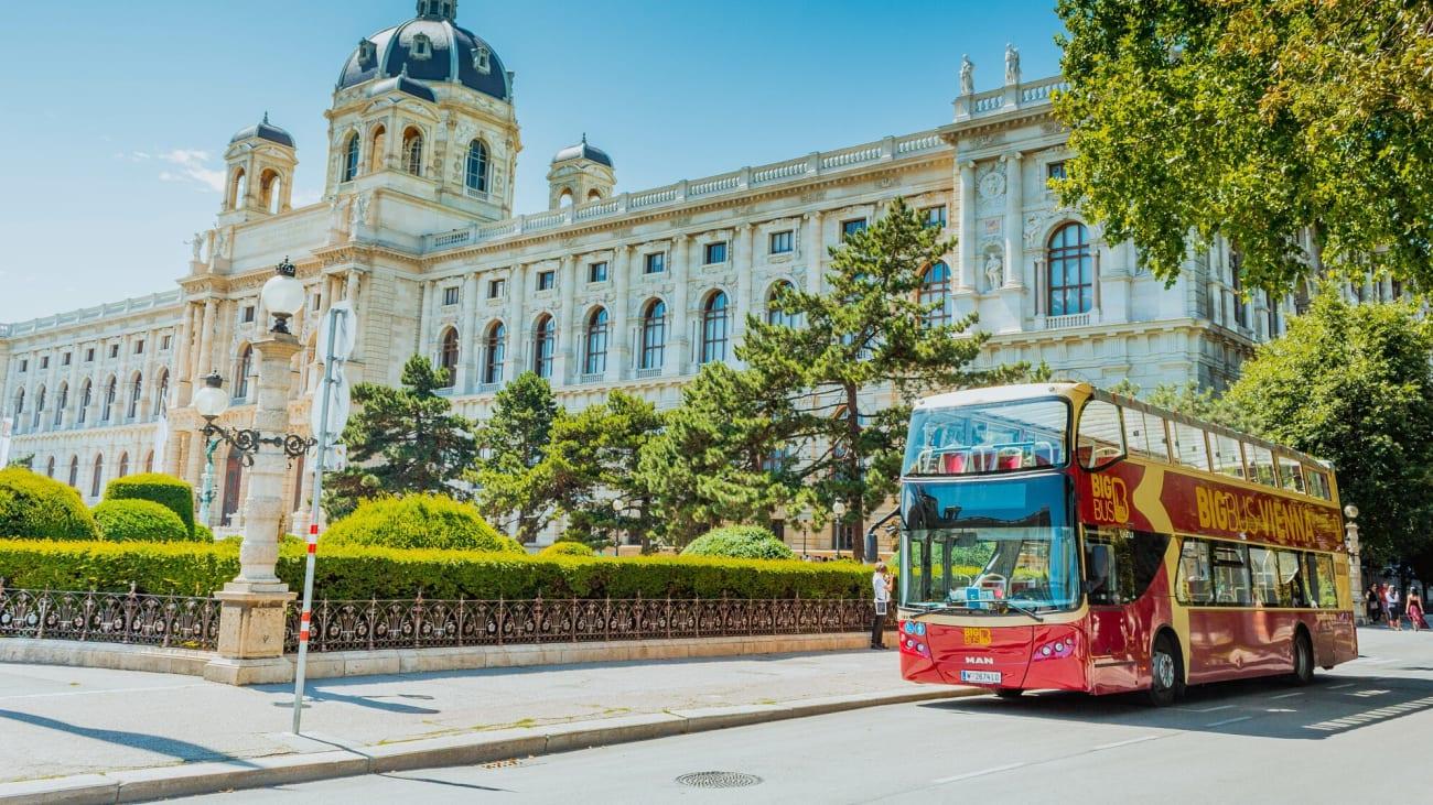 Hop-på Hop-af busrejser i Wien