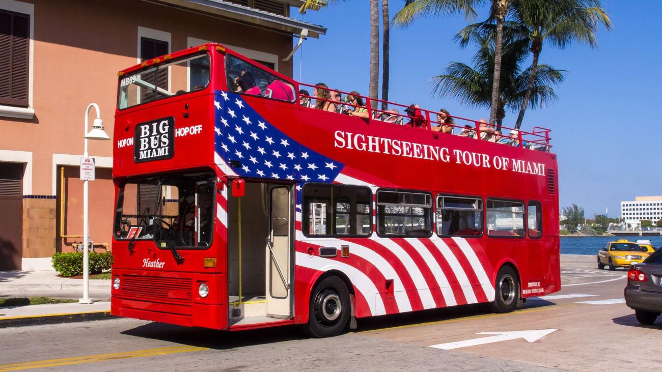 Los mejores buses turísticos en Miami
