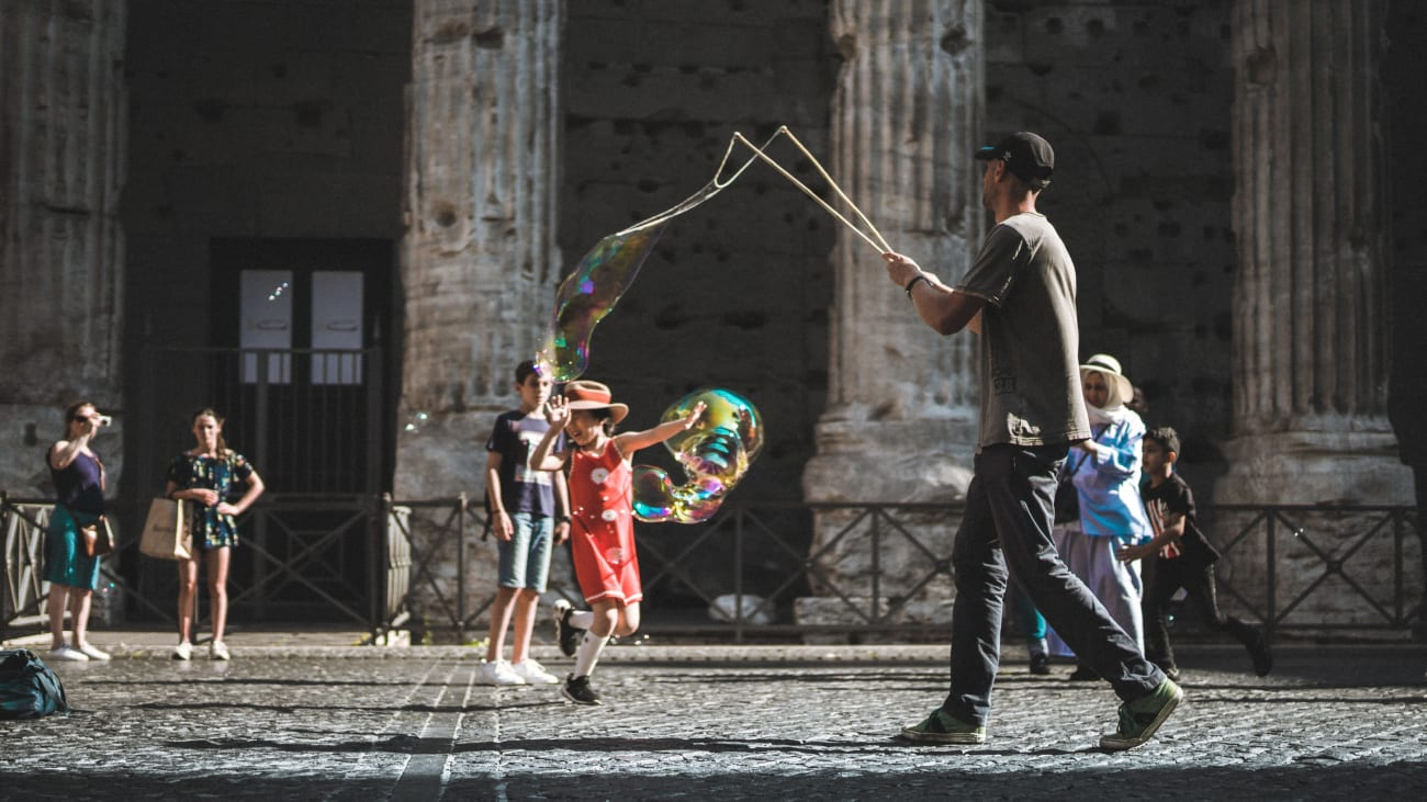 10 things to do in Rome with kids
