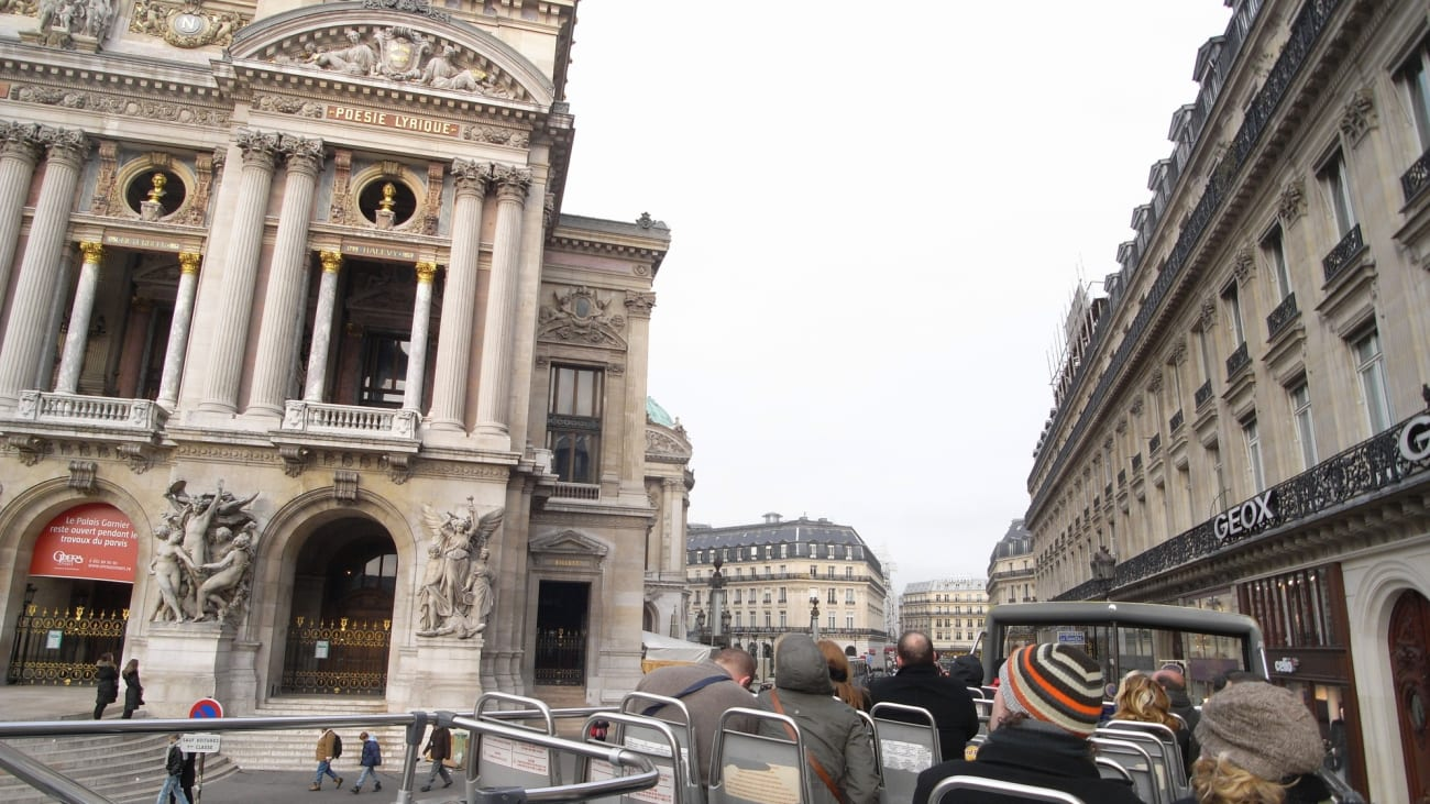 Los mejores buses turísticos en París