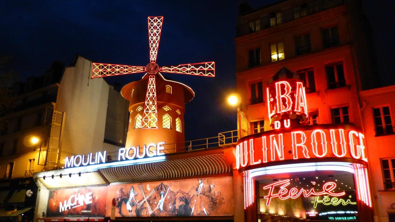 Ingressos Moulin Rouge em Paris