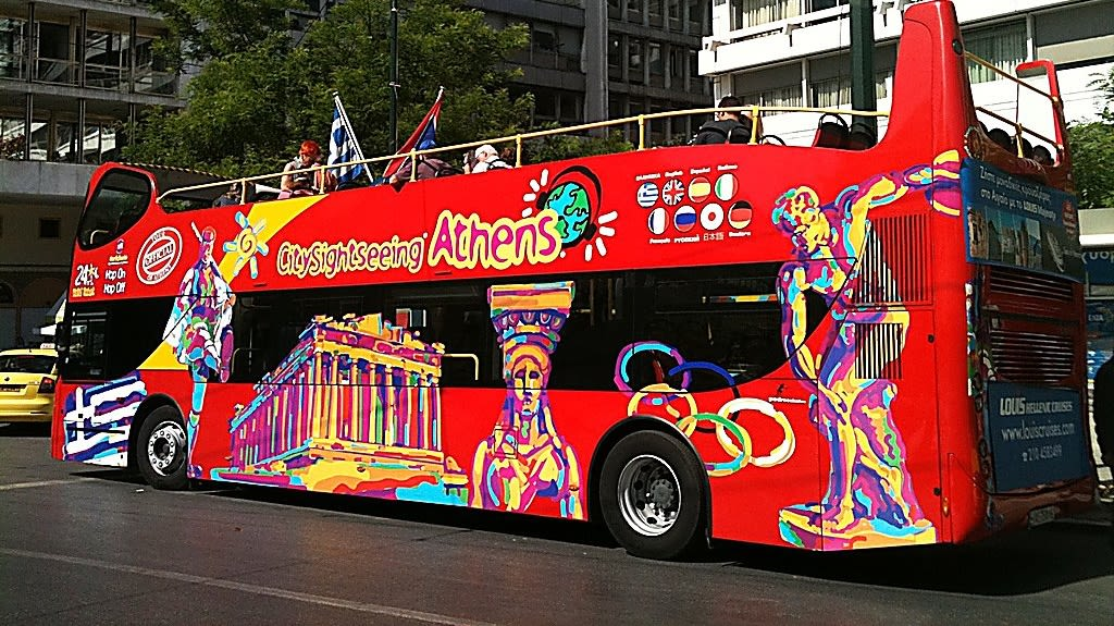 Hop on Hop off Bus Tours in Athens