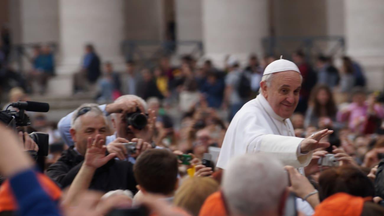 Audiencia Papal en Roma