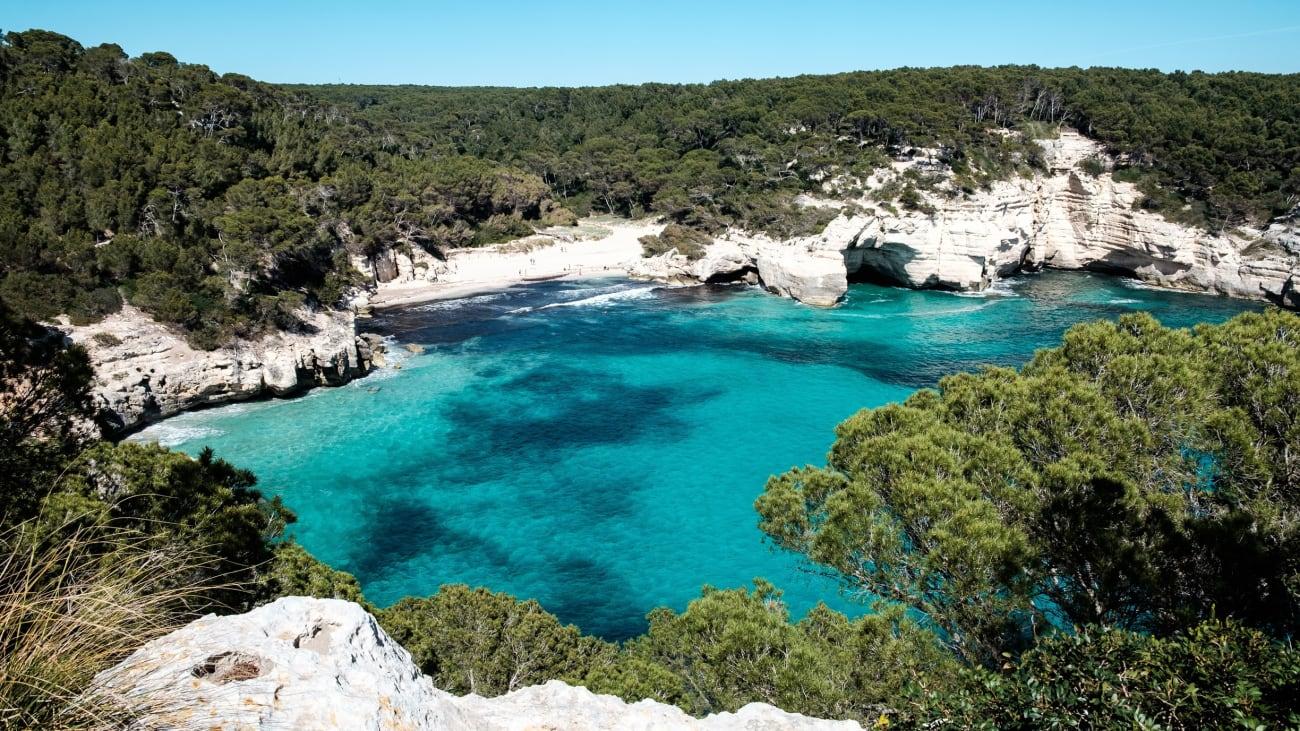 Excursión por las calas de Menorca