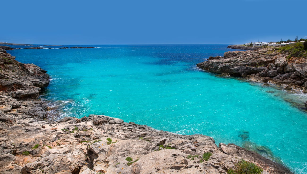 Cala Blanca i Menorca