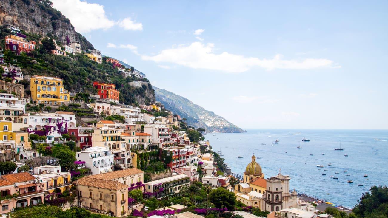 Sorrento, Positano, Amalfi Coast Day Trips from Naples