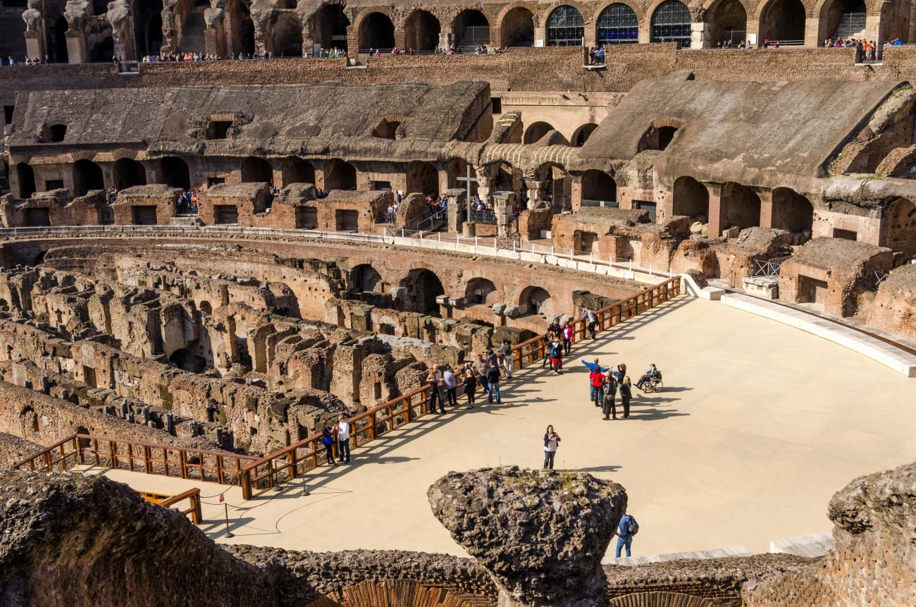 The Colosseum and the Roman Forum with kids