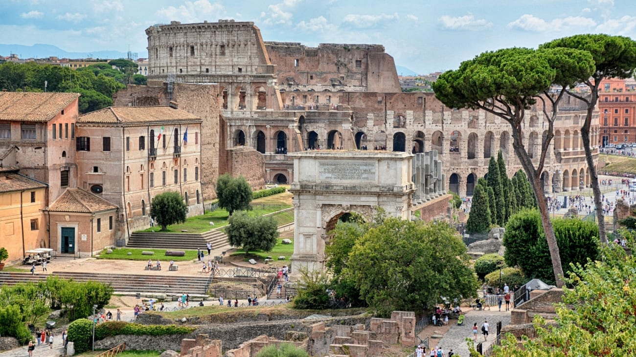 Duration of the visits to the Colosseum and the Roman Forum