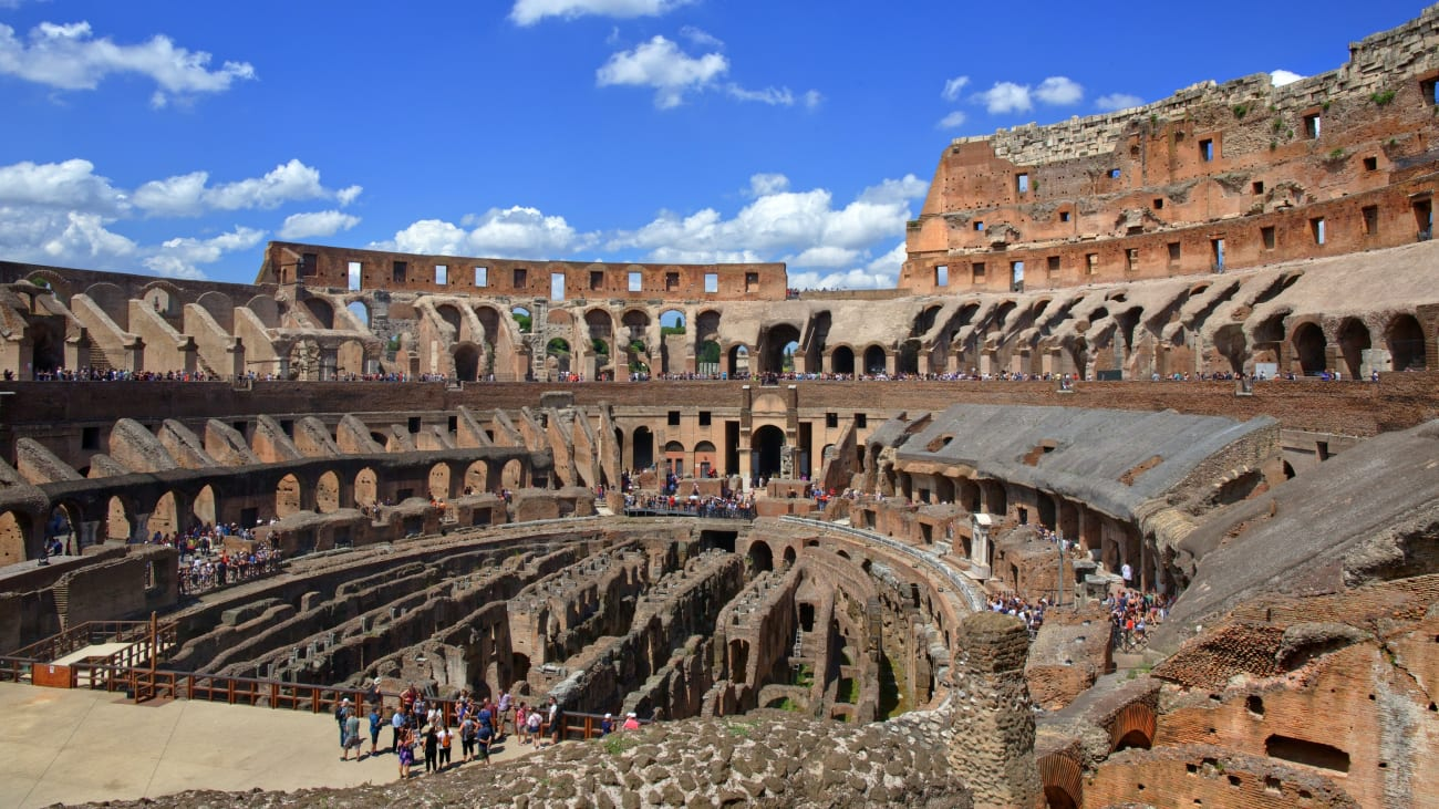 How to visit Colosseum's Arena