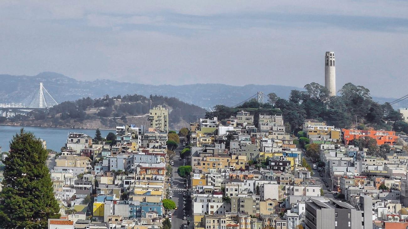 San Francisco Pass und andere Pässe