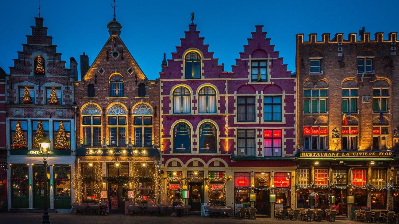Excursions en journée à Bruges au départ de Bruxelles