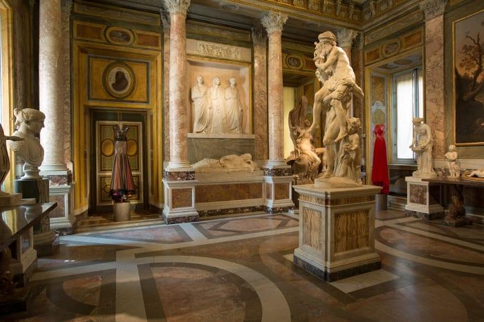 Detalhe do interior da Galeria
