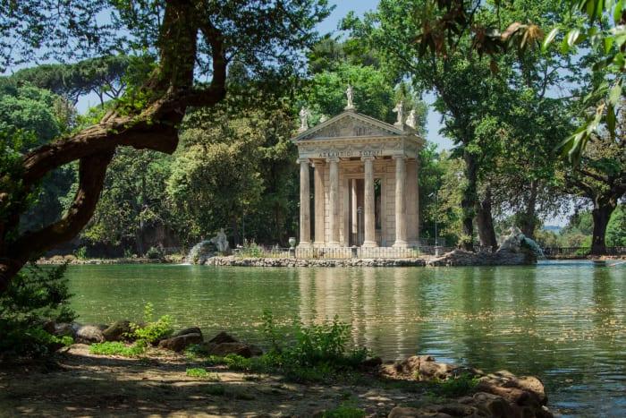 Lago da Villa Borghese