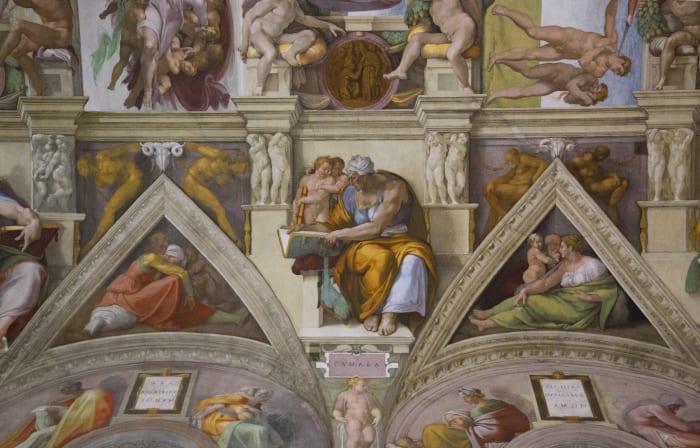 Frescos de la Capilla Sixtina