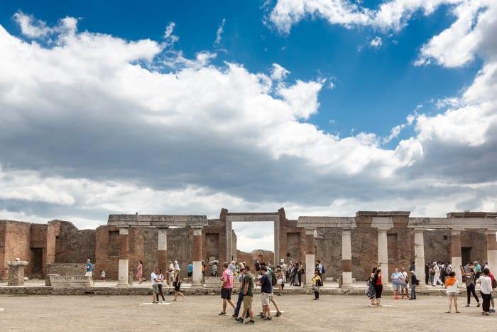 Ruas de Pompeia