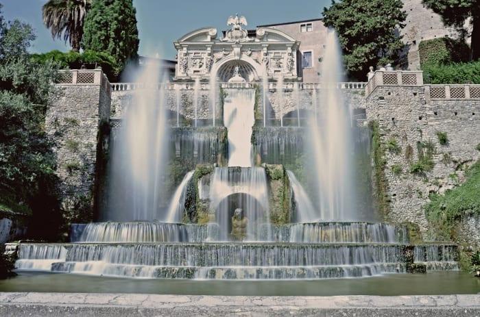 Villa d'Este en Tivoli
