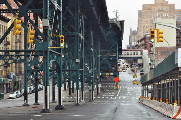 Au détour d'une rue à Harlem