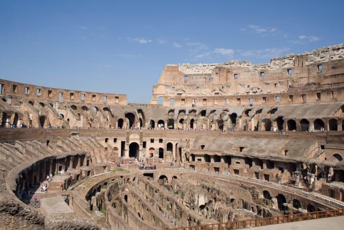 Interior do Coliseu