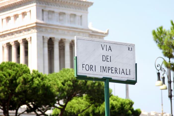 Via dei Fori Imperiali