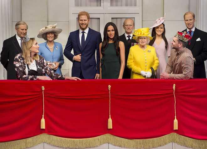 Representação da Família Real
