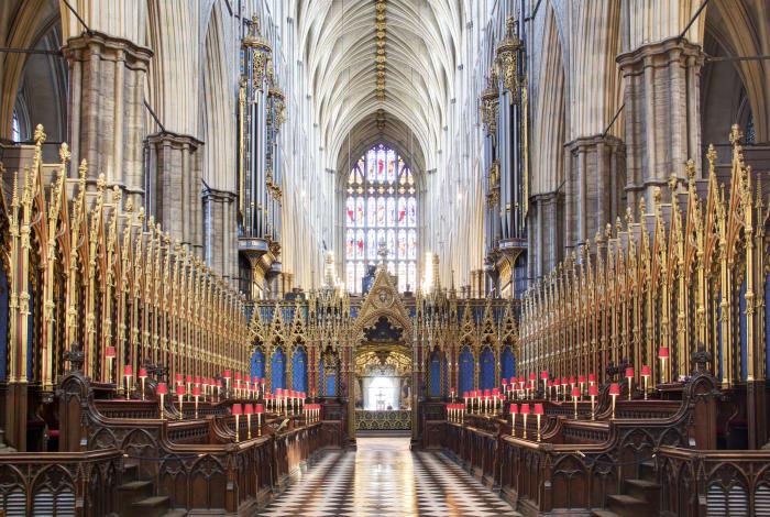 Abadía de Westminster por dentro