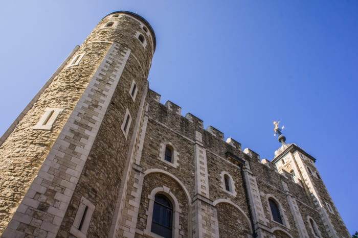 Façade de la Tour de Londres