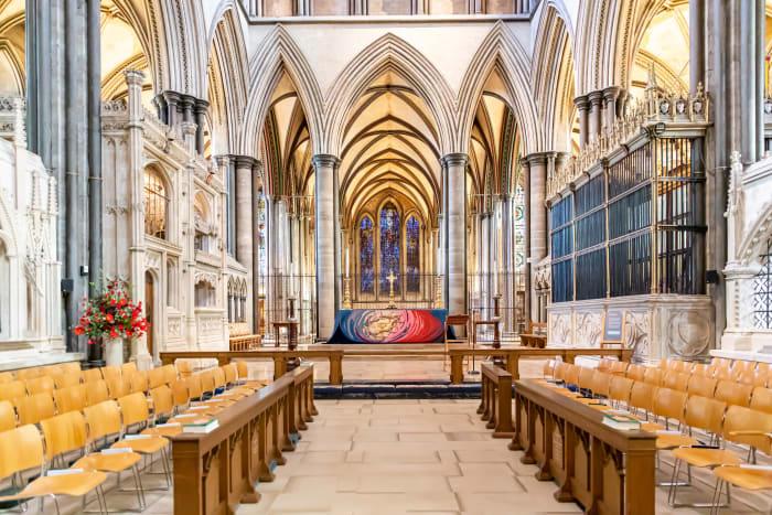 Catedral de Salisbury por dentro