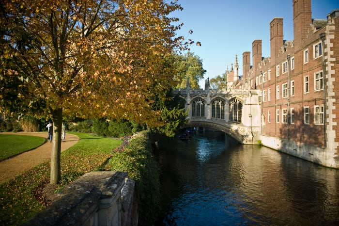 Paisagens de Cambridge