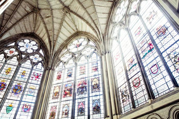 Cristais da Abadia de Westminster