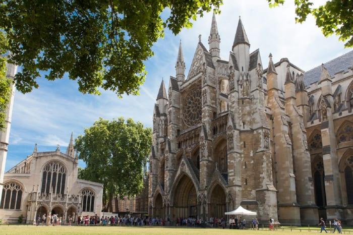Exterior da Westminster Abbey