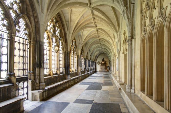 Corredores da Abadia de Westminster