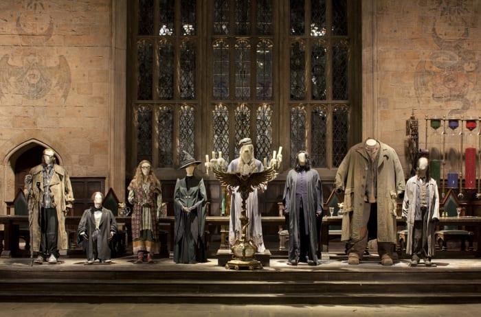 Costumes de la saga exposés aux studios de la Warner Bros