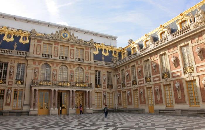 Fachada del Palacio de Versalles