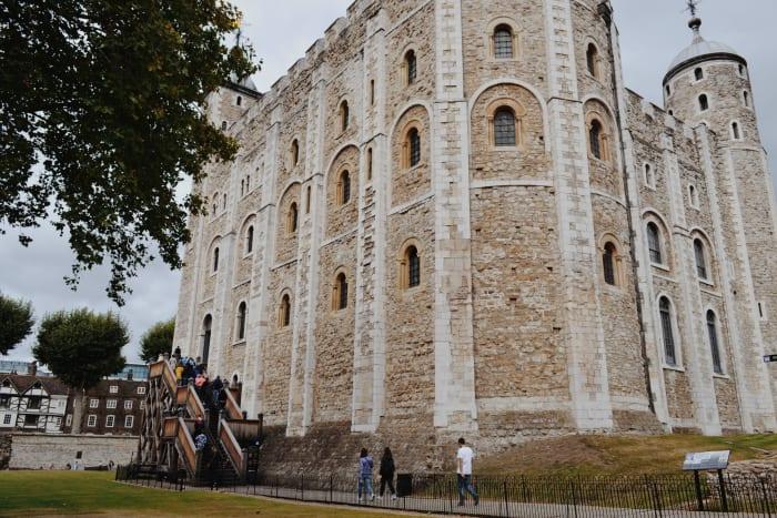 Entrée de la Tour de Londres