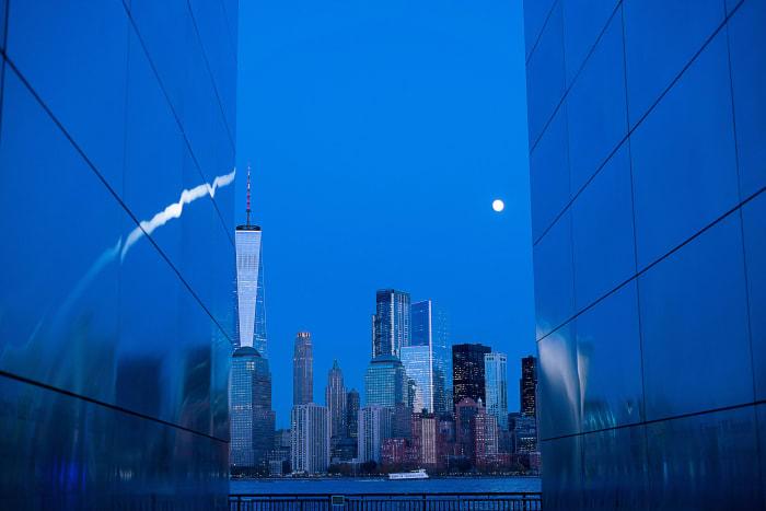Vista nocturna Skyline